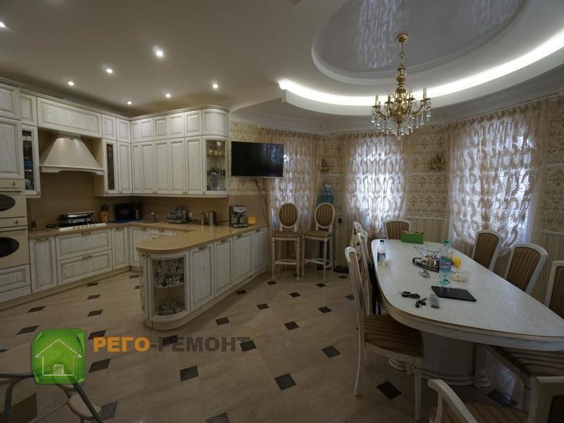 Ремонт 1-к квартиры в Краснодаре - Аквариус